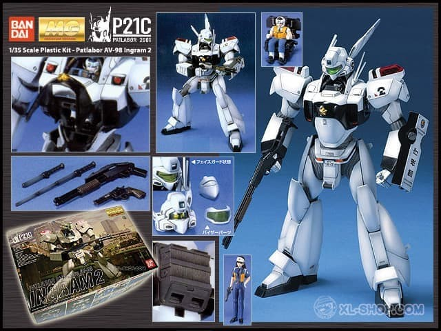 Ingram 2 JAPAN japan import MG Toy Bandai Patlabor 1//35 scale Plastic model