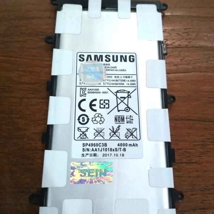Foto Produk Baterai Samsung Tab 2 P3100 Tab 7.0 Plus P6200 Original 100% Samsung - Putih dari Mr. Data Enterprise