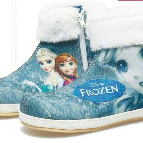 harga 761bda sepatu pesta boot anak perempuan/cewek frozen anna & elsa Tokopedia.com