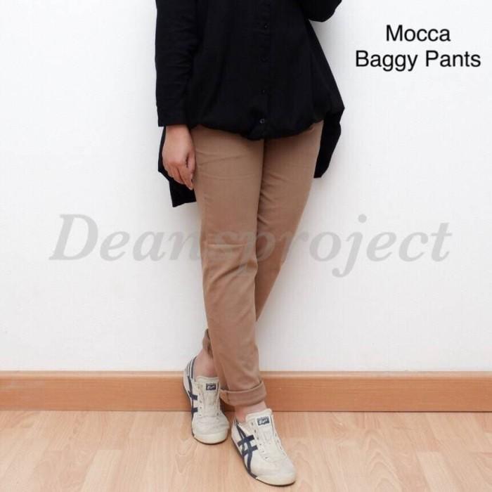 94+  Celana Baggy Pants Mocca Paling Bagus Gratis