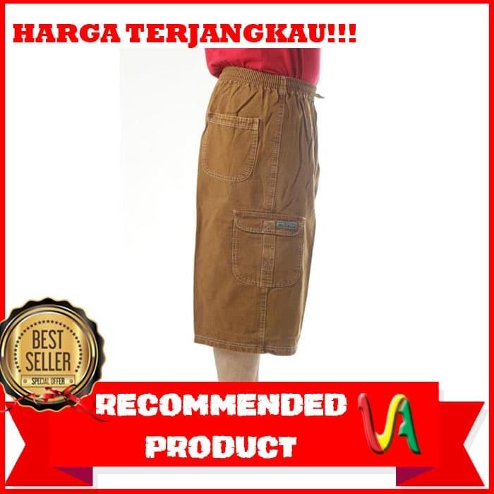 Celana pendek/celana 7/8 standard warna denim / 6 warna