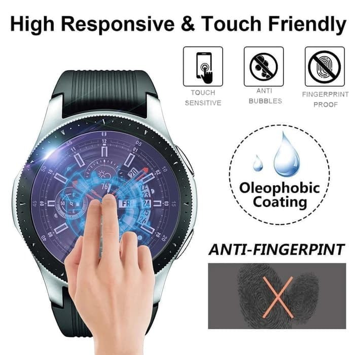 Foto Produk Tempered Glass Blue Light Samsung Galaxy Watch 42mm dari Hoki Tiam