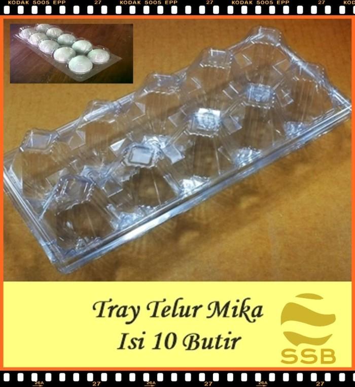 Foto Produk Tray Telur - Egg Tray - Mika Telur Isi 10 Butir tanpa pengunci dari Sarana Sukses Berkat
