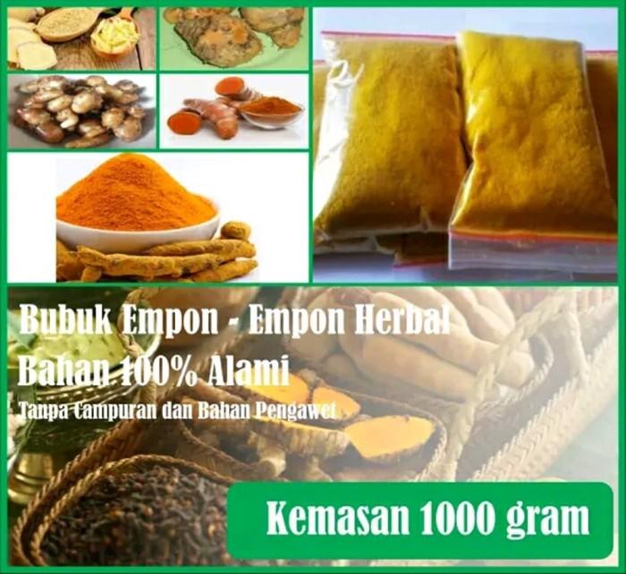 Foto Produk Bubuk Empon - Empon Jamu Ternak- Bubuk Kunyit Bubuk Temulawak 1000 gr dari Sarana Sukses Berkat