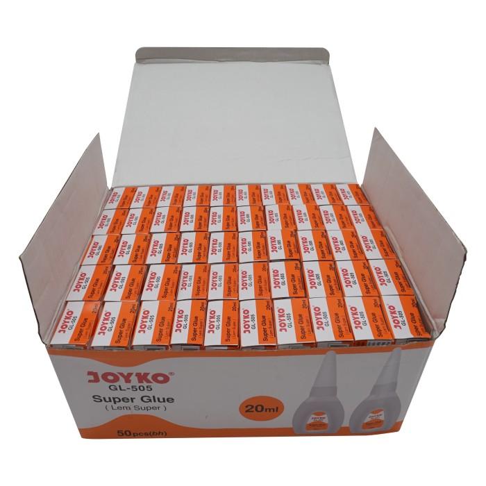 ... harga Super glue / lem super / lem cair joyko gl-505 / 20ml /