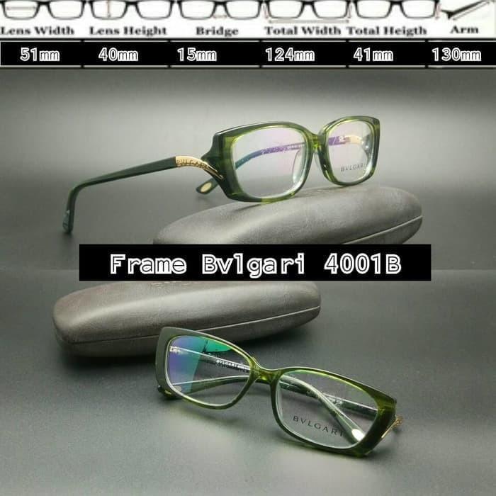 Jual Frame Kacamata frame minus kacamata Bvlgari 4001 Tortoise ... 1a20a61063