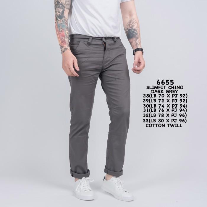 66+  Celana Chinos Dark Grey Terbaik Gratis