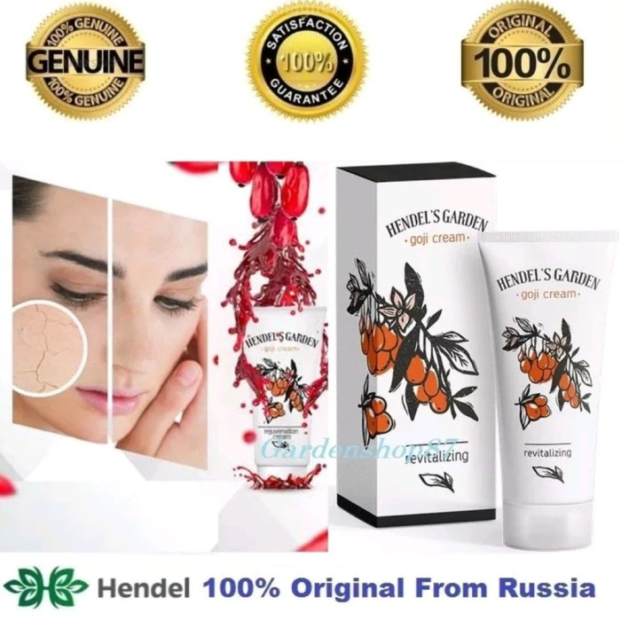 Goji beery cream anti penuaanpenghilang kerut asli rusia product 100%