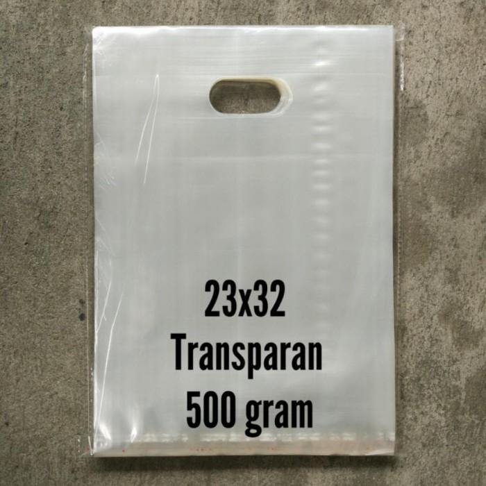 Foto Produk kantong plastik bening transparan pond oval 23x32 dari unik fashion
