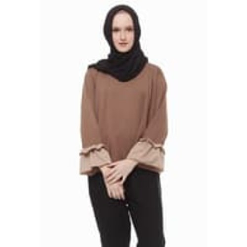 Mybamus two tone lucy top mocca m12483 r8s5