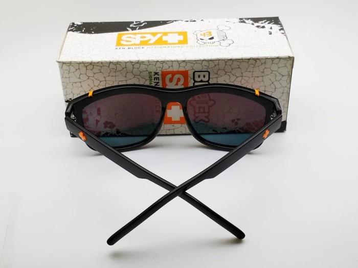 c8ea1292da840 Kacamata Spy Murena hitam lensa fire polarized list orange - sunglass