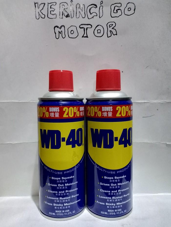 Foto Produk WD40 - PENETRATING WD40 333ML - CAIRAN ANTI KARAT WD40 dari KERINCI GO MOTOR