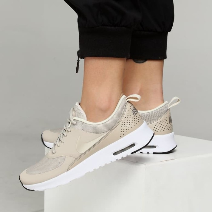 san francisco fe575 ef2ce 599409 205 Womens Nike Air Max Thea Beige Original Sneakers