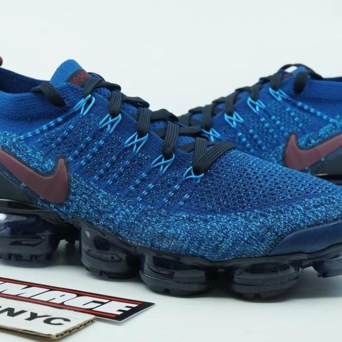 new york c7874 a2f2c Jual 942842 401 Nike Air Vapormax Flyknit 2.0 Gym Blue Original sneakers -  Jakarta Selatan - Nike Ating   Tokopedia