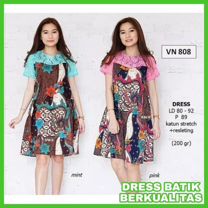Review Dress Batik Kerja Wanita Baju Kerja Batik Dress Kerja Batik ... e608b3ca83