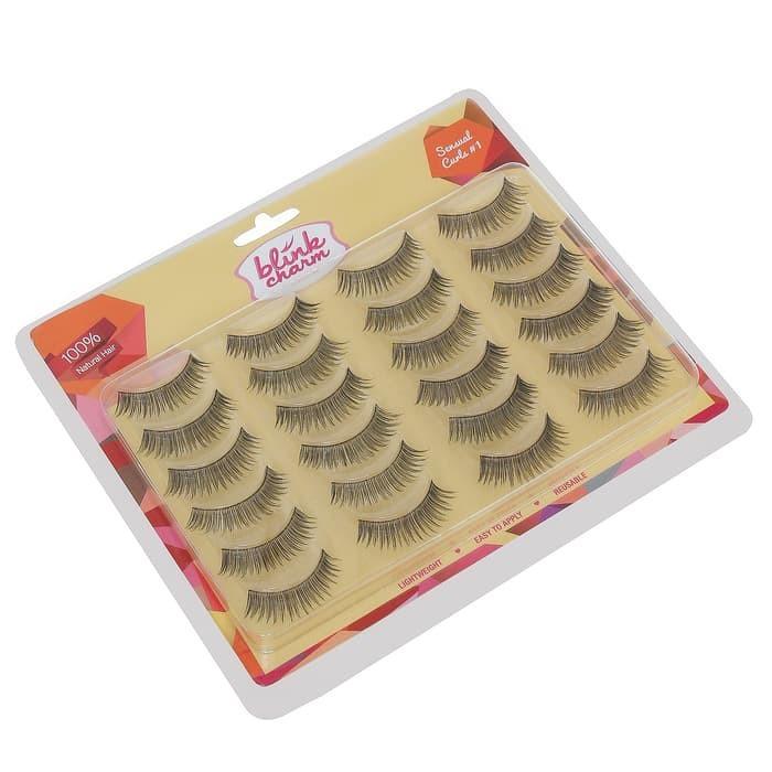 Blink Charm Eyelashes Sensual Curls #1 - 12 Pair