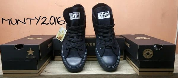 Jual   SEPATU CONVERSE ALL STAR HIGH CT2 FULL BLACK + BOX CONVERSE ... d9f08cd6d