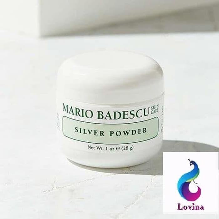 Penghilang Bekas Jerawat Mario Badescu Silver Powder - 28gr