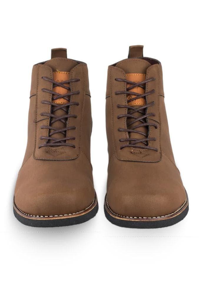 Jual Sepatu Boots Keren Merk Moofeat Brodo Darkbrown Harga Murah ... 6d4acd823d