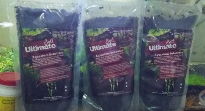 Media tanam aquascape Soil Ultimate 1kg multi type substrat