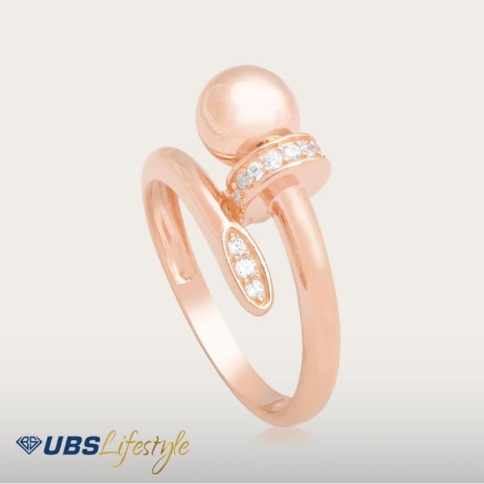 harga Ubs gold ring - cc14757-1 - 750 - putih 14 Tokopedia.com
