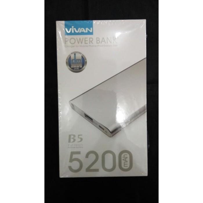 Powerbank - Power Bank Vivan B5 5200MAH - 5200 MAH Murah