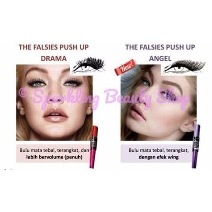 91df5765e09 Jual BEST! Maybelline The Falsies Push Up Angel Waterproof Mascara ...
