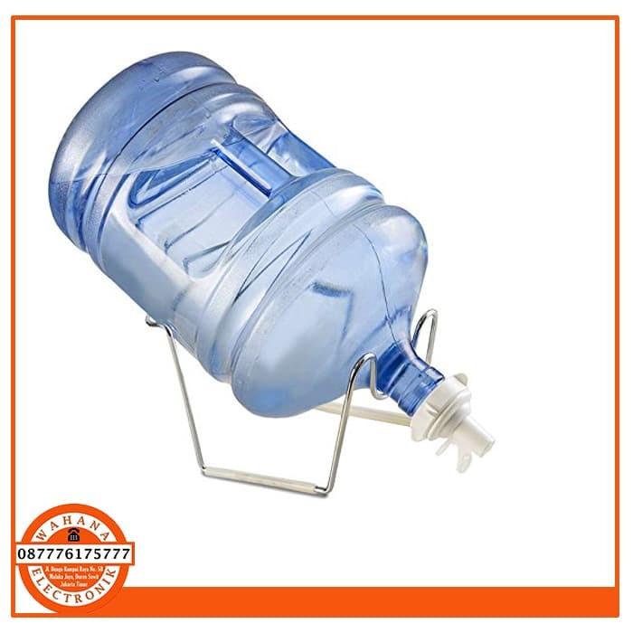harga Stainless steel tatakan / dudukan galon aqua air minum + kran galon Tokopedia.com