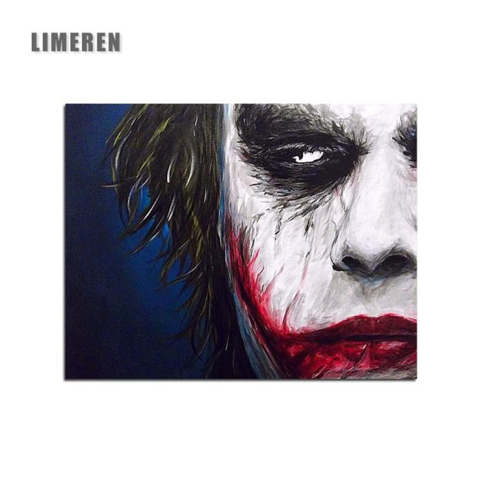 Jual Poster Murah Berkualitas Joker Diy Digital Lukisan Dengan