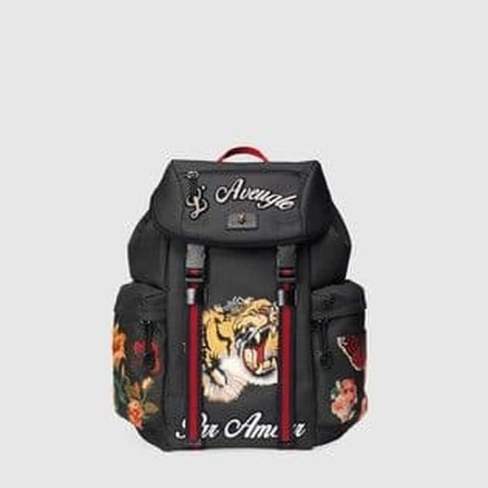 e67c738e284 Tas Gucci Backpack Techpack L Aveugle Embroider Limited Edition. Toko dalam  status moderasi