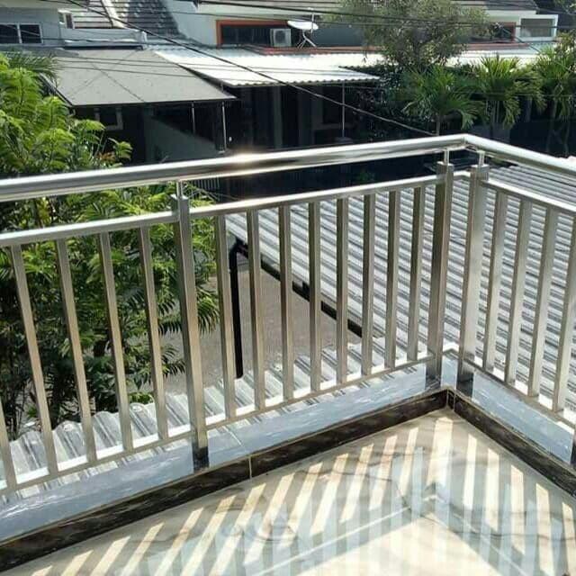 Jual Railing Balkon Tangga Stainless Steel Kota Bekasi