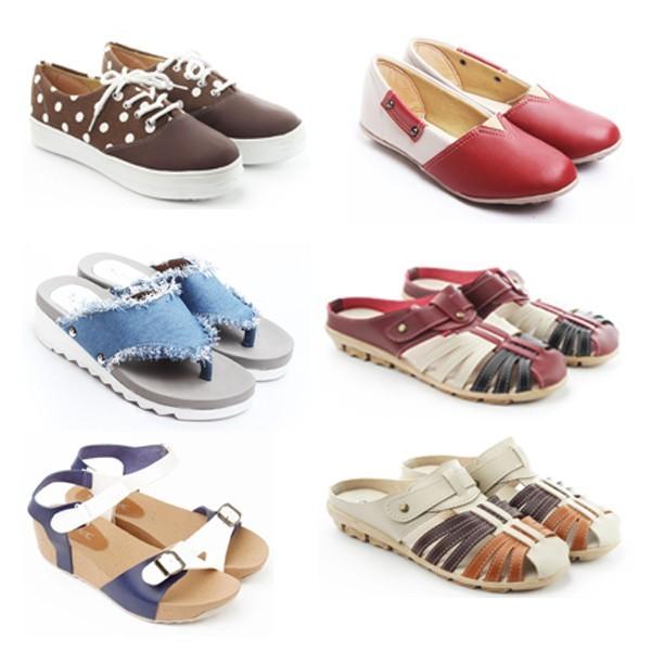 Jual Mix Happy Box - Aneka Sepatu   Sandal Wanita (Flats 4d25263684