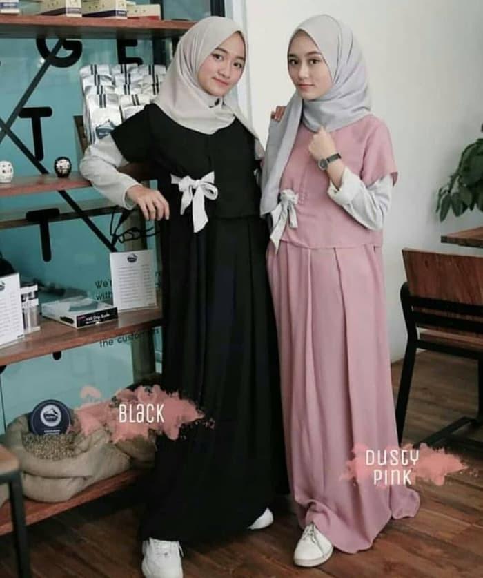 Jual Denada Dress Gamis Remaja Selebgram Hijab Masa Kini Banjaran Pu Pi Tokopedia