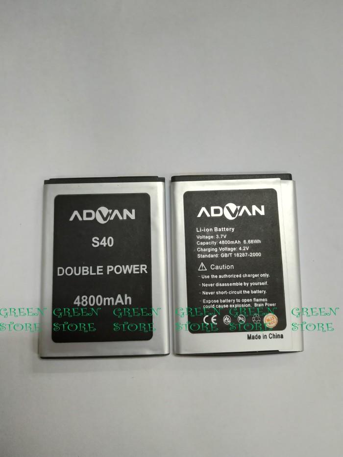 Baterai Advan S40 Double Power Original | Batre, Batrai S40