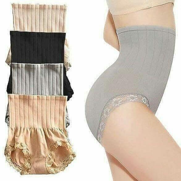 Slimming Pants / Celana Korset Pelangsing Desain Munafie - Hitam