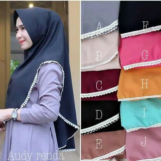 HIJAB JILBAB pet JUMBO RENDA / HIJAB KHIMAR SIMPLE PET JUMBO XL Rend