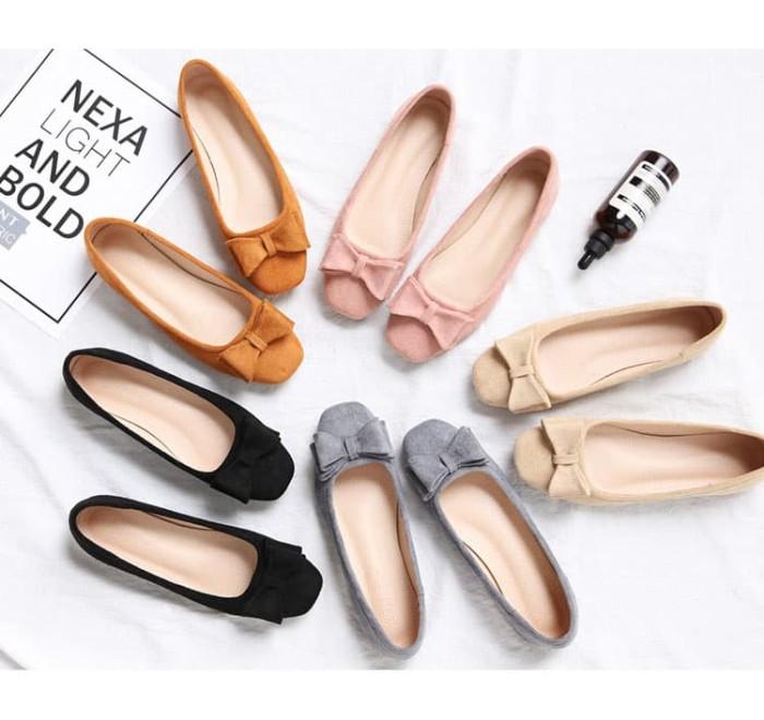 Foto Produk Sepatu Flat Wanita Korea - TIFFANY Flat dari Pertiwi Shop Termurah