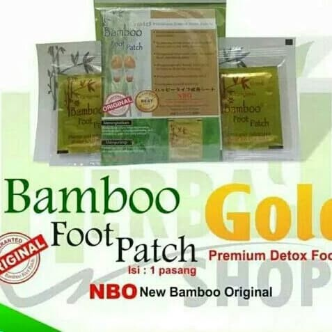 Koyo Kaki bambu Bambo Bamboo gold foot patch original