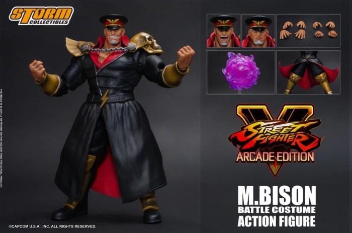 Jual Street Fighter V M Bison Arcade Edition 1 12 Scale Figure