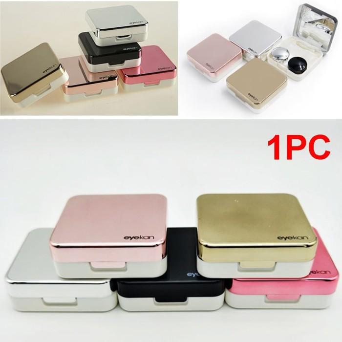 Foto Produk Contact Lens Portable Mini Travel Holder Storage Soaking Box S dari ABC STORE IDR