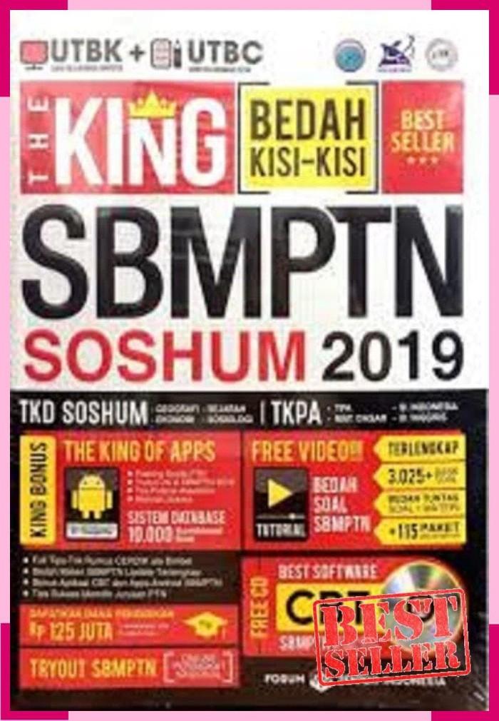 Foto Produk PROMO / The King SBMPTN Soshum 2019 plus CD. Bedah Kisi Kisa Besat dari eko handoko