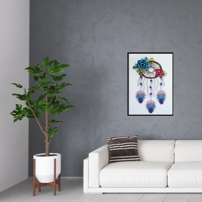 Foto Produk Lukisan Sulaman Berlian 5D Jahitan Bersilang Desain Cantik Mod dari IMPORTIRGNCORP1