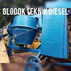 Foto Produk TIGER MESIN MOLEN KAPASITAS 425 LITER plus DIESEL 8 PK Promo Gede dari Keke deals