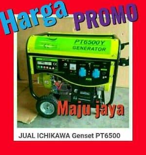 Foto Produk Harga PROMO Genset Generator 5000 Watt bensin ICHIKAWA Promo Gede dari Hardware Center