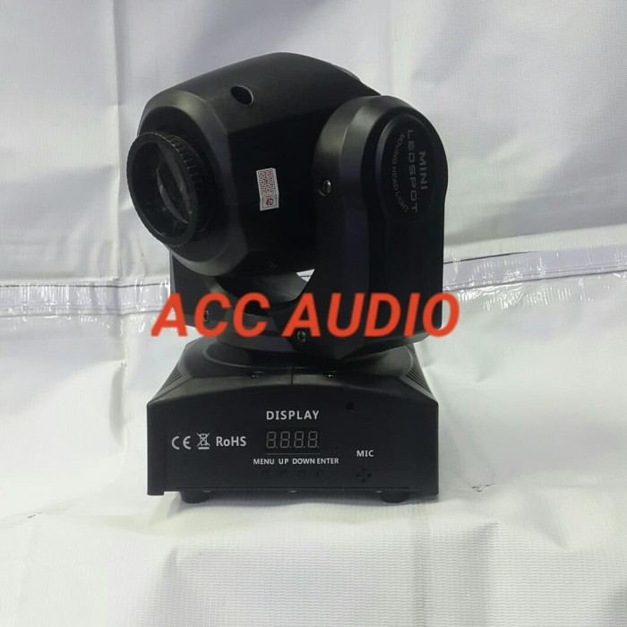 harga Mini beam moving head 30w gobo redsun Tokopedia.com