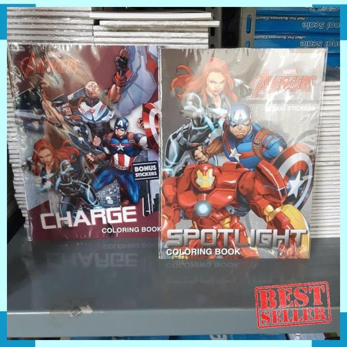 Foto Produk NEW / Coloring Book AVENGERS LARGE . Marvel Buku Mewarnai Adinata dari SOLUSI BELANJA ONLINE