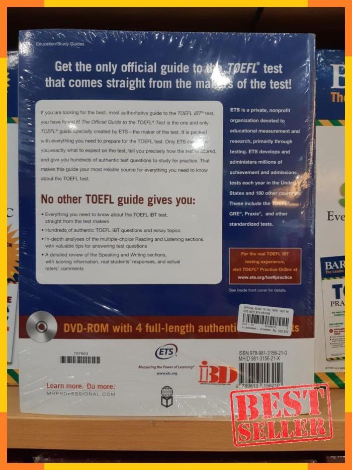 Foto Produk SPECIAL / BUKU Official Guide To The Toefl Test WDvd Set 5Th Edition dari FASHION INTERNASIONAL