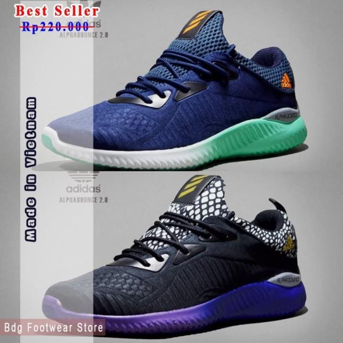 235e18239 ... harga Sepatu sneaker olahraga running pria jogging casual adidas  alphabounce Tokopedia.com