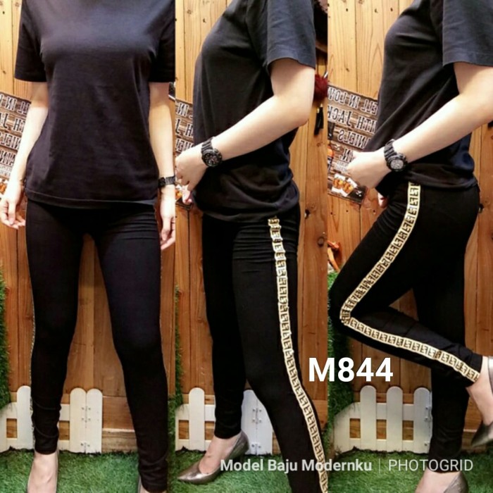 Jual Celana Legging Ff List M844 Fit To L Bahan Twill Import Kota Pekalongan Model Baju Modernku Tokopedia