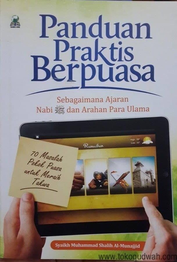 Foto Produk buku panduan praktis berpuasa dari Salimnaa